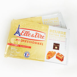 ~樂烘焙~ 鐵塔牌片狀無鹽奶油1kg^(丹麥可頌.酥皮用 乳脂肪含量84^% 延展性佳^)
