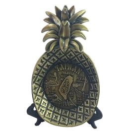 ~收藏天地~ 品~ 景點鳳梨形狀飾盤╱ 送禮 文創