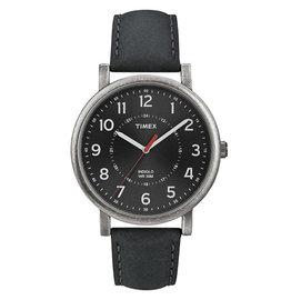 ~時間光廊~TIMEX 天美時 黑 復刻系列 簡約 款  貨 T2P219