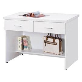 JXD三尺半白色書桌