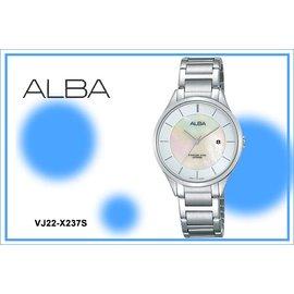 ~時間道~むALBA~錶め簡約淑女魅力腕錶 白貝殼面 ^(VJ22~X237S AH7L3