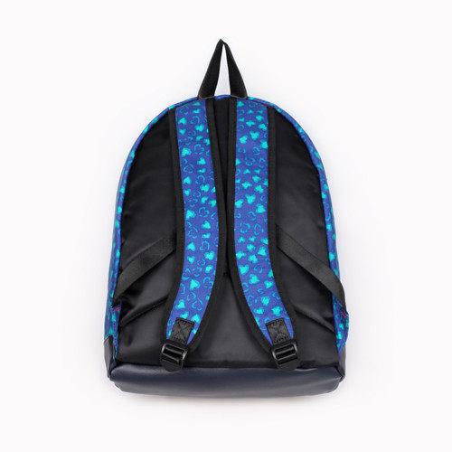 【黑皮酱】krabag 后背包 大容量/双肩后背包 豹纹爱心款 backpack