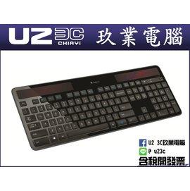 ~嘉義u23c 含稅~ 羅技 Logitech K750r 無線太陽能鍵盤 Unifyin