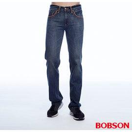 ~BOBSON~男款低腰繡花直筒褲 1812~52