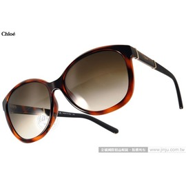 Chloe 太陽眼鏡 CL668SA 219  琥珀  法式 唯美貓眼款 墨鏡 # 金橘眼