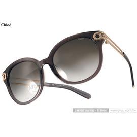 Chloe 太阳眼镜 CL682SA 036 (透灰-金) 法式典雅气质猫眼款 墨镜 # 金橘眼镜