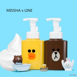 MISSHA x LINE FRIENDS 聯名 莎莉Sally 綠茶籽 泡沫潔面乳 25