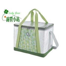 大林小草~【81670400】日本LOGOS INSUL10軟式保冷袋35L-綠-【國旅卡】