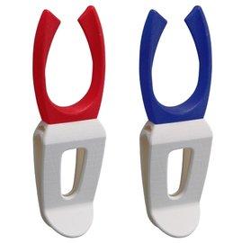 ◎百有釣具◎DAIWA ROD CLIP-B 插夾式簡易置竿架 2入一組 顏色隨機出貨