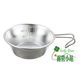 大林小草~【M-5514】日本鹿牌CAPTAIN STAG燕三條 不鏽鋼杯320ML (日本製) 廚具 鍋具-【國旅卡】