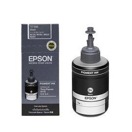 EPSON 黑色 防水墨水~1盒^(140ml ^) T7741 M100 M105 M2