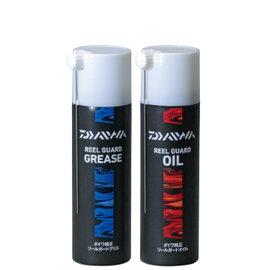 ◎百有釣具◎DAIWA REEL GUARD OIL/GREASE 捲線器專用 培林潤滑油(紅瓶)/保養油(藍瓶) 100ml (單罐包) 專為DAIWA捲線器的高階機種使用