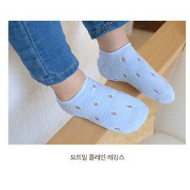 ^~韓風童品^~ ^(3雙 組^)女童糖果色薄棉襪 兒童鏤空隱形襪子 寶寶棉質網眼襪 洞洞