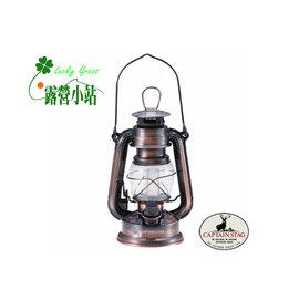 大林小草~【M-1328】日本鹿牌CAPTAIN STAG 復古LED油燈-古銅-【國旅卡】