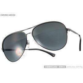 EMPORIO ARMANI 太陽眼鏡 EA2032 312687 ^(銀~黑^) 紳士百