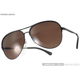 EMPORIO ARMANI 太陽眼鏡 EA2032 312773 ^(黑~咖啡^) 紳士