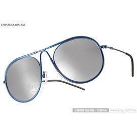 EMPORIO ARMANI 太陽眼鏡 EA2034 30196G  藍  男仕 水銀鏡面