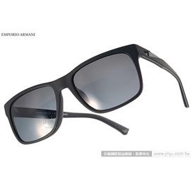 EMPORIO ARMANI 太陽眼鏡 EA4071F 504281 ^(黑^) 率性百搭