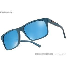 EMPORIO ARMANI 太陽眼鏡 EA4071F 550855 ^(青藍^) 率性百