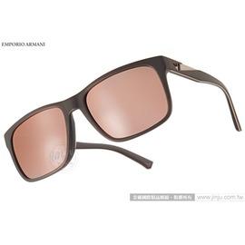 EMPORIO ARMANI 太陽眼鏡 EA4071F 55094Z ^(咖啡^) 率性百