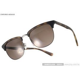 EMPORIO ARMANI 太陽眼鏡 EA4072 508973  琥珀~槍銀  率性