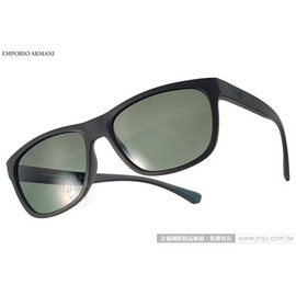 EMPORIO ARMANI 太陽眼鏡 EA4081F 50429A ^(黑^) 百搭偏光