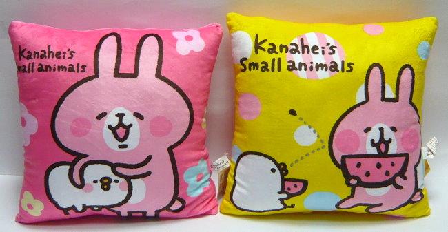 卡娜赫拉的小动物 line贴图 可爱疗愈系 12吋卡娜赫拉方枕 午安枕