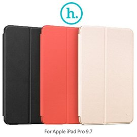 HOCO Apple iPad Pro 9.7 果戀納帕款保護套 側翻皮套 可站立 二折皮