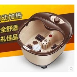 全自動加熱足浴盆電動氣泡�皕鑑^`桶泡腳器自助按摩器洗腳盆~3C 科技館~