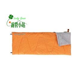 大林小草^~~72600263~ LOGOS 17號丸洗睡袋^(橘^)~~國旅卡~