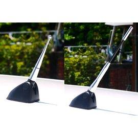 汽車用 鋁合金 收音機天線 天線尾 ANT天線 汽車天線 規格頭替換 高質量 抗氧化 持久