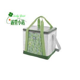 大林小草~【81670410 】日本LOGOS INSUL10軟式保冷袋25L-綠-【國旅卡】