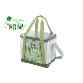大林小草~【81670420】日本LOGOS INSUL10軟式保冷袋15L-綠 -【國旅卡】