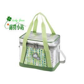 大林小草~【81670430】日本LOGOS INSUL10軟式保冷袋5L-綠 -【國旅卡】