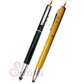 DC系列~N12~03 四合一觸控雷射筆  LED燈 原子筆 觸控筆 指示器 雷射筆 簡報