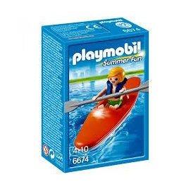 Playmobil 6674 水上樂園 獨木舟