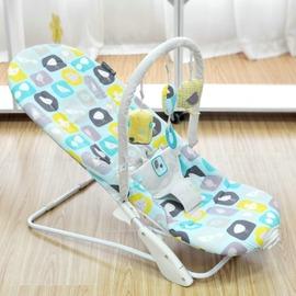 嬰兒搖椅震動安撫椅輕便搖籃多 寶寶搖搖椅~型男株式會社~
