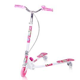 三輪兒童滑板車蛙式四輪剪刀車3輪童車4歲踏板滑滑車搖擺車玩具車~3C 館~