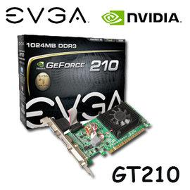~強越3C購~ EVGA 艾維克 GeForce GT210 gt210 1GB D3 顯