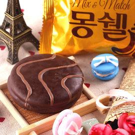萬花筒 ~香蕉巧克力口味小蛋糕~ 首爾 8入 盒  韓國火紅