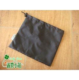 大林小草~【442-06-BK】寬口雜物袋-黑、餐具收納袋、營釘袋、營繩袋、工具袋 28x25cm