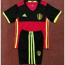 比利時主場2016~17年度Adidas Nike 國家隊兒童 球服小孩男童足球服 球衣