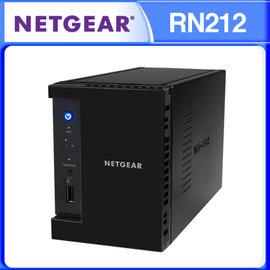 NETGEAR RN212 直立式 2BAY NAS 儲存伺服器 ReadyNAS 212