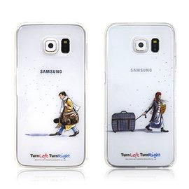 幾米Samsung S6 透明手機殼~雪地款