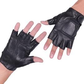 特種兵戰術手套春 男女 戶外騎行 半指真皮手套