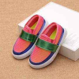 童鞋 兒童涼鞋中大童女童男童舒適透氣網鞋休閒沙灘鞋童鞋~小桃美衣~