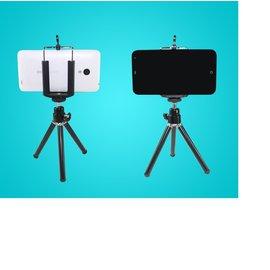 手機支架 迷你三角支架 通用數位相機便攜小巧 三腳架 ( 含手機夾座 )