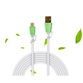 新竹市 android手機 Micro usb 雙面插充電線/傳輸線 (1米/1公尺) **正反插-鍍金加粗款**