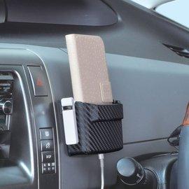 ~GO CAR  車用 ~SEIWA 軟質小物收納盒S~碳纖 W864