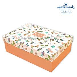 Hallmark圖紋風長型 盒 蝴蝶  L
